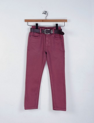 Bad Boys purple hue jeans with elastic