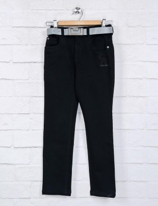 Bad Boys solid black denim jeans