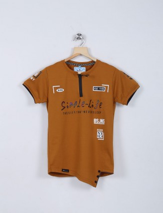 Bambini rust orange t-shirt