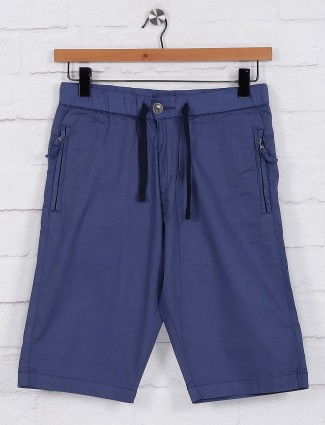 Beevee presented blue simple shorts
