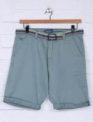 Beevee solid mint green hue short