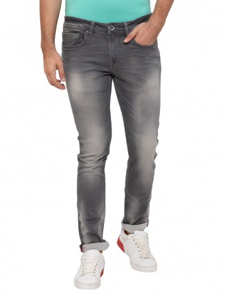 Being Human presented grey washed jeans
