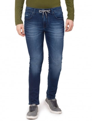 Being Human presented navy washed jeans