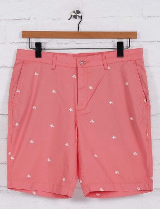 Blackberrys bright pink printed shorts