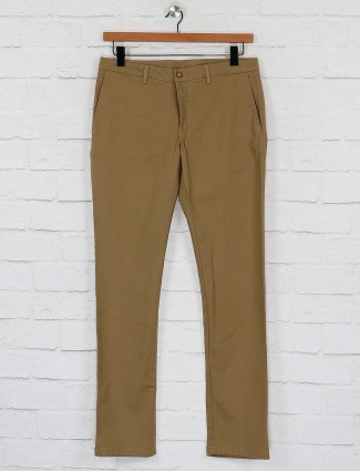 Blackberrys khaki hue slim fit trouser