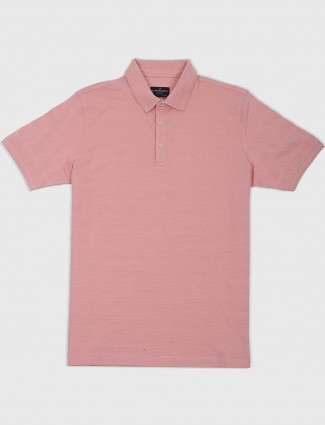Blackberrys solid pink colored t-shirt