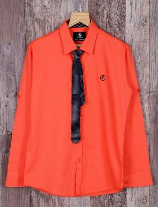 Blazo bright orange shirt