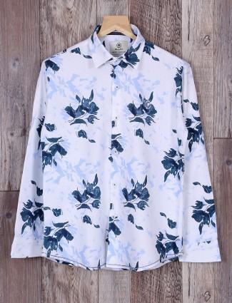 Blazo cotton white color shirt