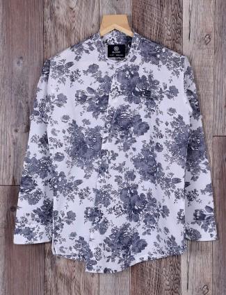 Blazo white and navy color shirt