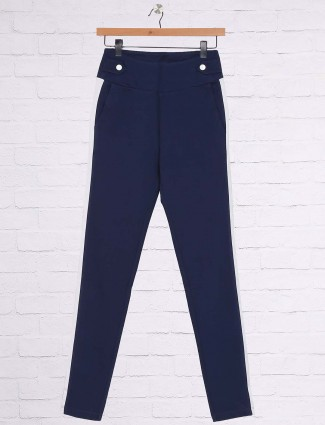 Blue hue casual jeggings