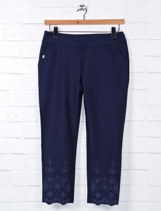 Boom navy jeggings womens in cotton
