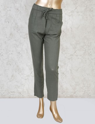 Boom olive payjama in linen