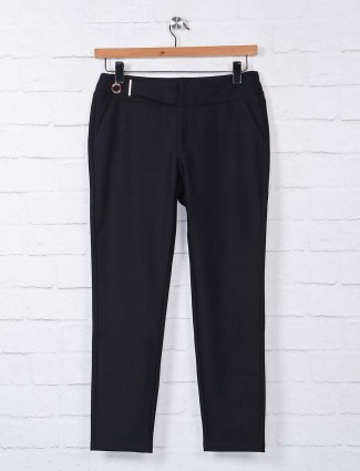 Boom presented black cotton jeggings