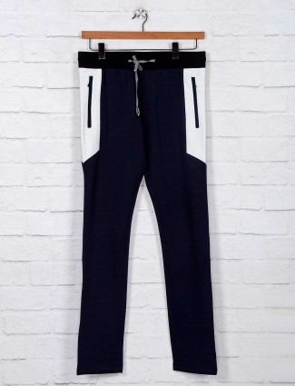 Chopstick navy comfort night track pant