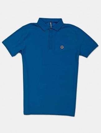 Chopstick solid blue mens t-shirt for mens