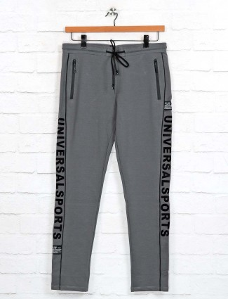 Cookyss grey cotton night wear track pant