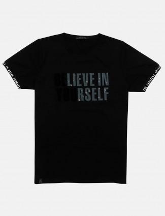 Cookyss printed black t-shirt