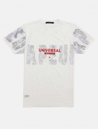 Cookyss printed white t-shirt