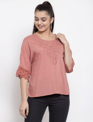 Cotton onion top in casual style