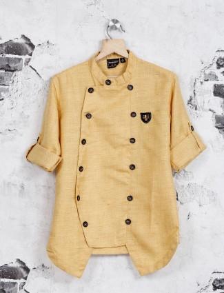 Danaboi beige cotton shirt