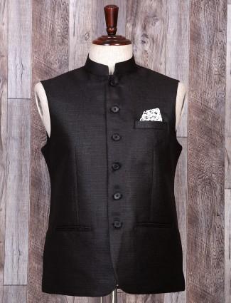 Darken grey hue festive waistcoat