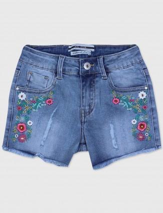 Deal blue shorts in denim