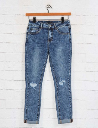 Deal blue skinny fit casual jeans