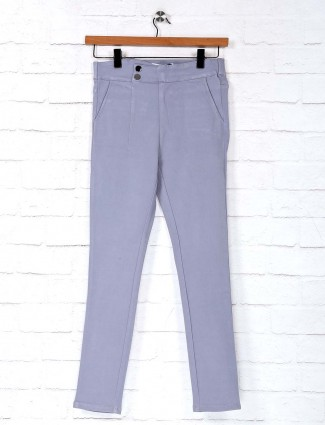 Deal cotton grey solid jeggings