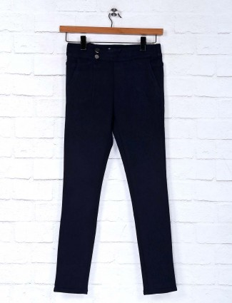 Deal cotton navy comfortable jeggings