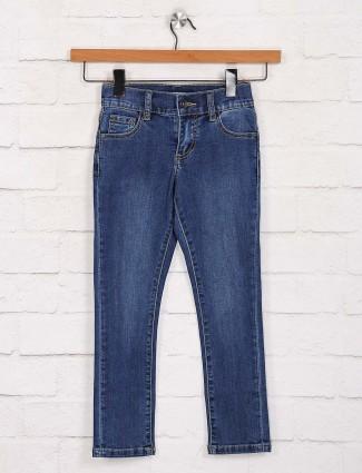 Deal designer blue skinny fit jeans