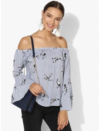 Deal off shoulder casual wear top