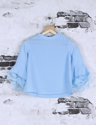 Deal plain sky blue top