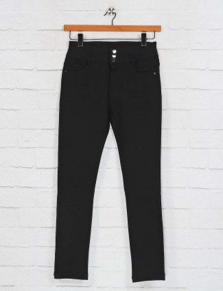 Deal solid black skinny touch pant