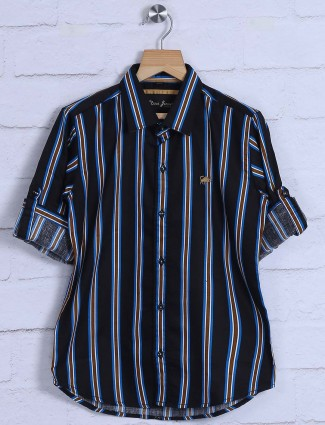 DNJS black colored stripe shit
