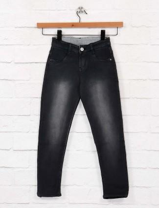 EBONY black color skinny fit girls jeans