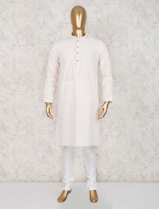 Festive wear cotton festive kurta suit