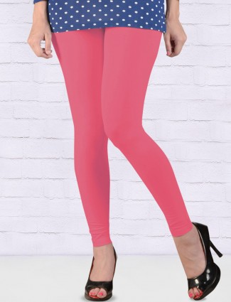 FFU dark pink hue ankal length leggings