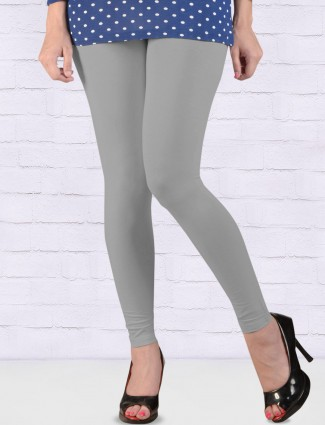 FFU grey simple regular ankal length leggings