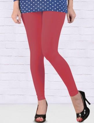 FFU magenta hue skinny fit ankal length leggings