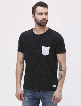 Flying Machine casual black color t-shirt
