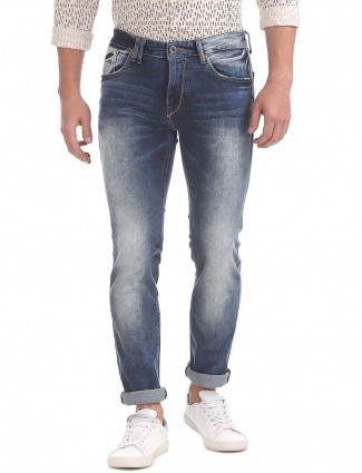 Flying Machine dark blue casual jeans