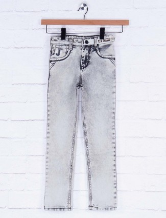 Forway grey hued solid jeans