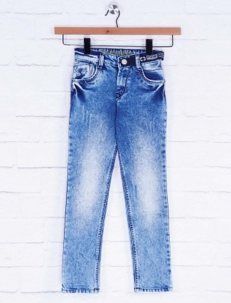 Forway simple blue washed jeans