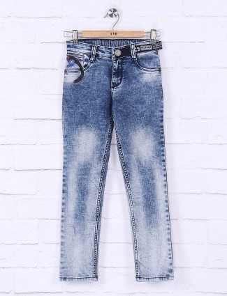 Forway sober blue washed effect jeans