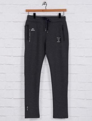 Freeze dark grey color night track pant