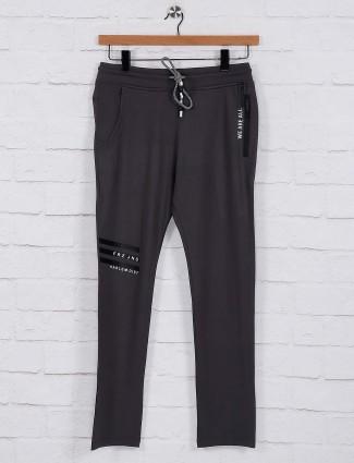 Freeze presented comfortable dark grey track pant