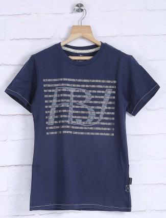 Fritzberg presented navy t-shirt