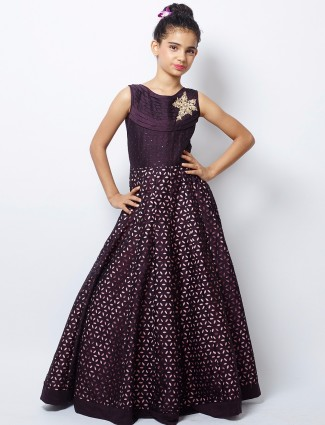 G3 Exclusive designer silk party wear gown