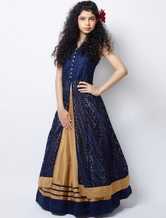 G3 Exclusive silk gold wedding wear designer lehenga choli