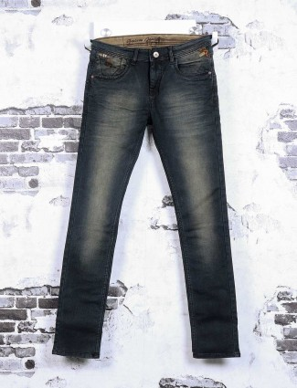 Gesture blue color shaded jeans